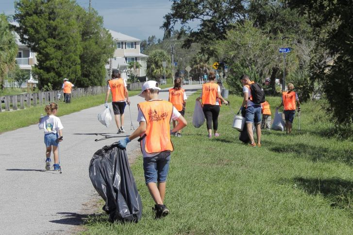 Pinellas Trail Cleanup