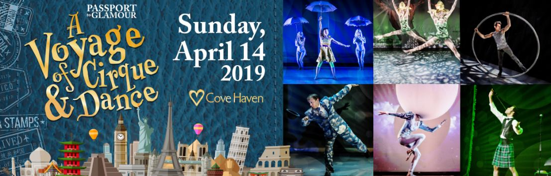 Ready for an adventure? Passport To Glamour at Cove Haven Resorts April 2019!