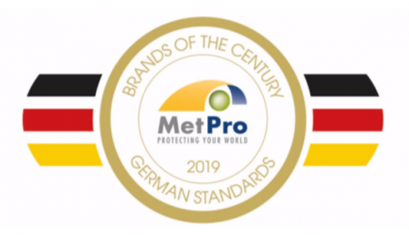 "MetPro BioCor® Named ""Brand of the Century"""