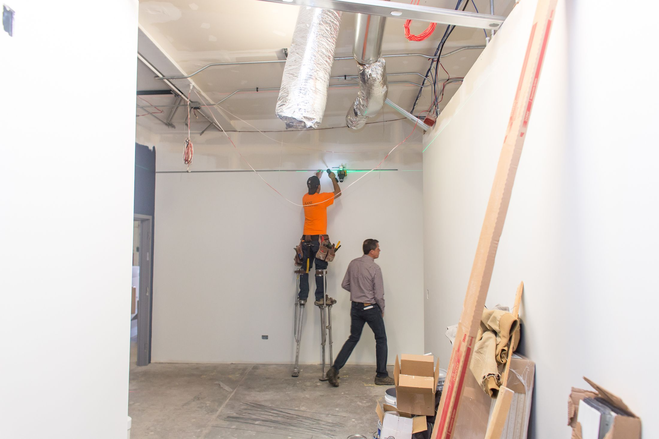 Allied AC & Heating is renovating its space to accommodate its growing business.