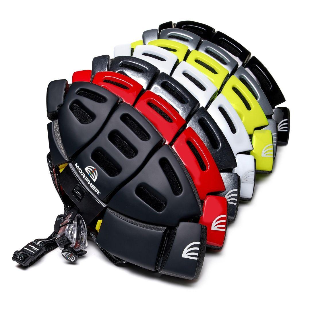 Morpher Flatfold helmet six colours