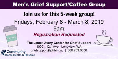 Grief Support Group for Men in Longview