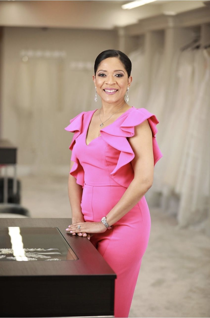 June Rachele Eaton, Owner and Bridal Expert