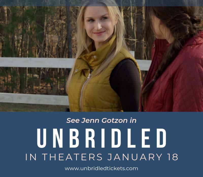 "Award-winning drama ""Unbridled"" with Jenn Gotzon Chandler"