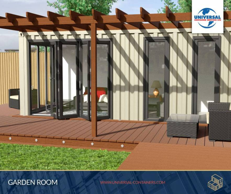 Universal Containers Bespoke Container Conversions - Garden Rooms
