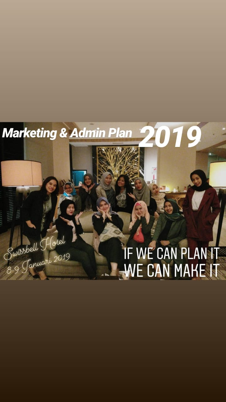 Transafe Indonesia Marketing & Admin Meeting Plan 2019