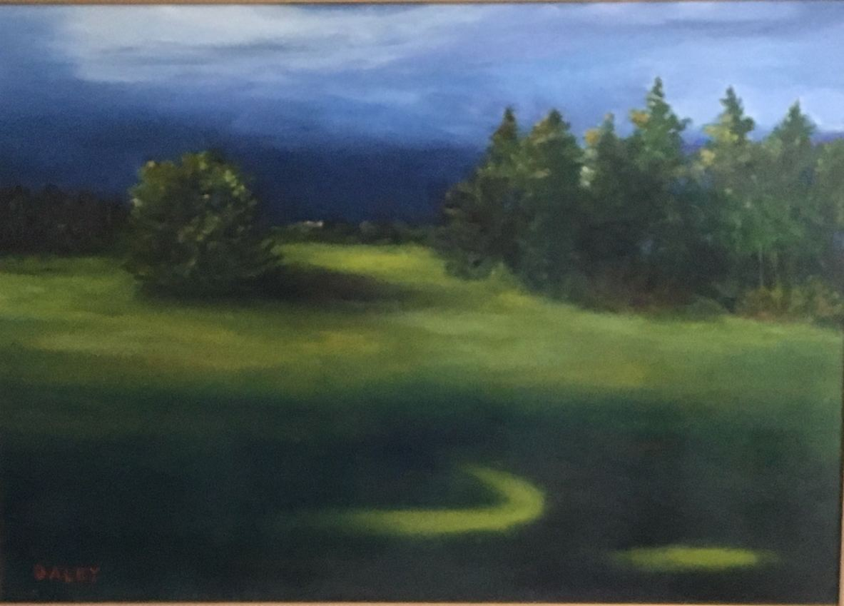 """Kevin Daley ~ 'After the Storm: Hebron, Maine' ~ Oil on Canvas 20"""" x 28"""""""