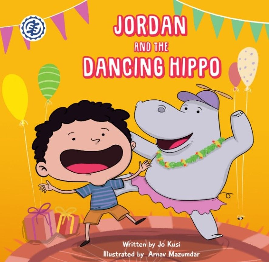Jordan and the dancing Hippo