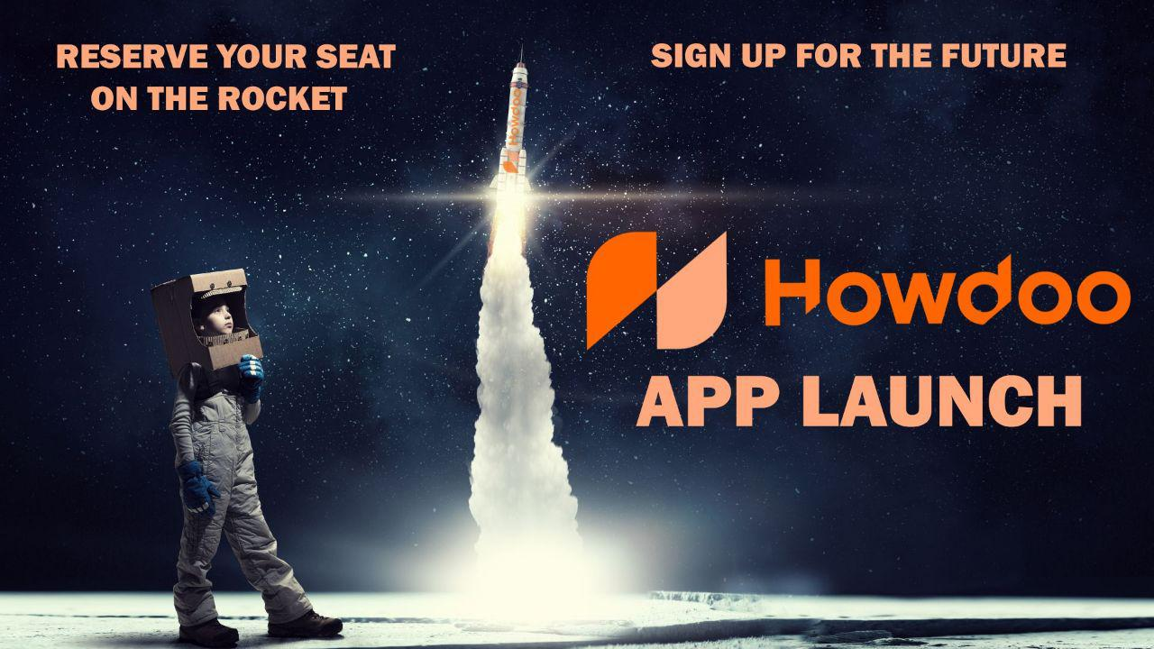 Howdoo Launch of IOS and Android Beta