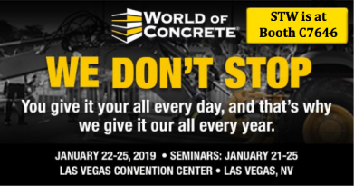 World of Concrete STW