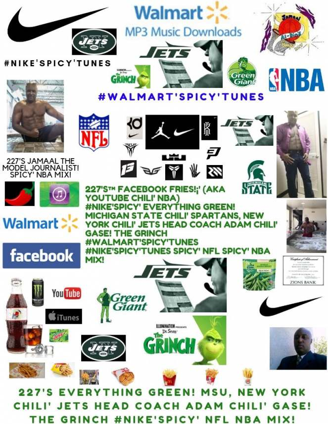 227's™ #Nike'Spicy' GREEN! New York Chili' Jets Head Coach Adam Chili' Gase!