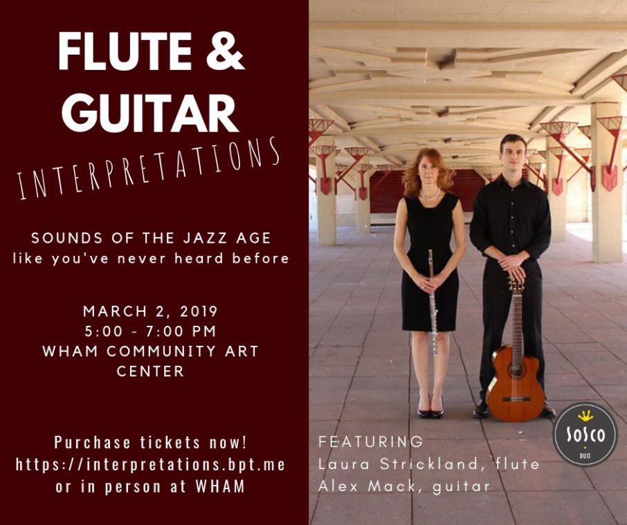 SoSco Flute & Guitar Duo Interpretations Concert