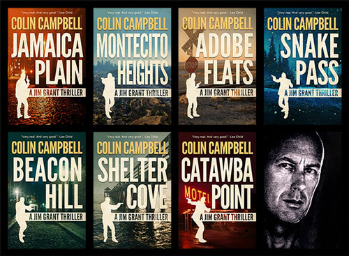 The Jim Grant Thrillers by Colin Campbell