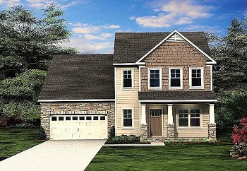 The Bedminster Floor Plan by Paran Homes is 1 of 4 available at Kingsland