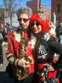 Ken Field & Karen Aqua; photo credit Maury Martin.