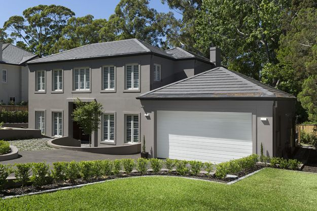 Warrawee House as a finished build. Impressive, isn't it?