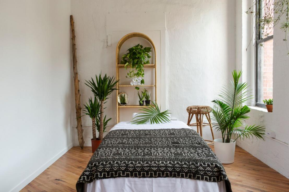 Massage Outpost, image by Elena Mudd