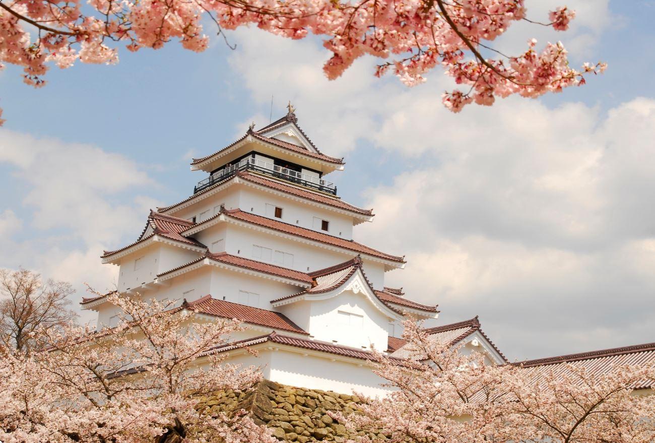 Tsurugajo Castle, Aizu Wakamatsu, Japan