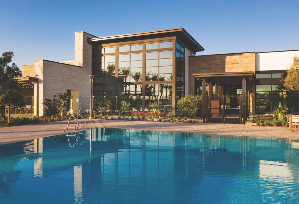 Resort-inspired clubhouse opening soon at Altair Irvine, a luxury masterplan