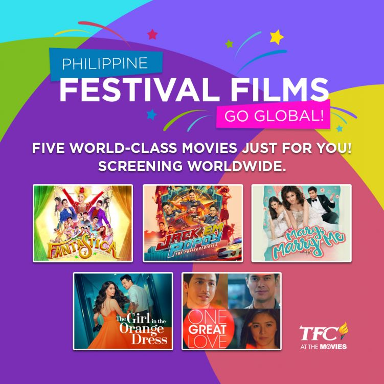 2018 MMFF Films featured on TFC at the Movies
