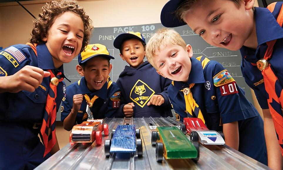 Pinewood Derby at CCV