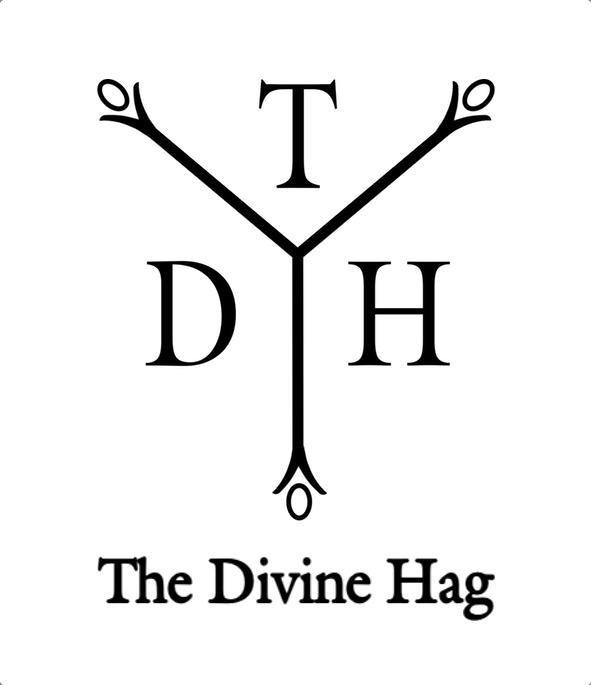 The Divine Hag logo