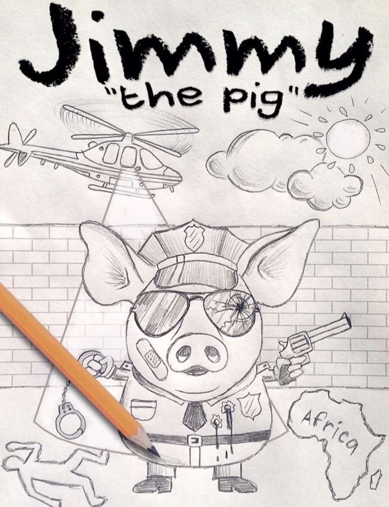 Jimmy The Pig by Teddo November