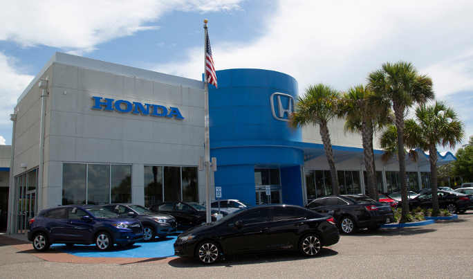 Brandon Honda is named number 1 volume Honda dealership in Tampa