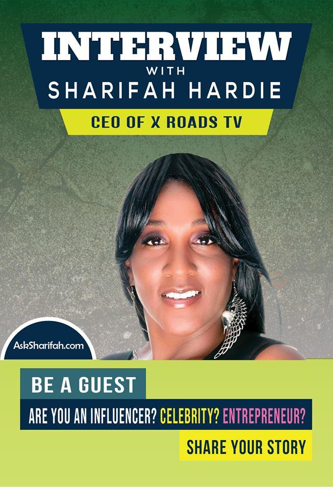 Sharifah Hardie, CEO of X Roads TV