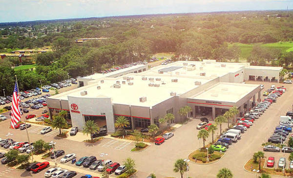 Sun Toyota is #1 Toyota Dealer in Tampa area