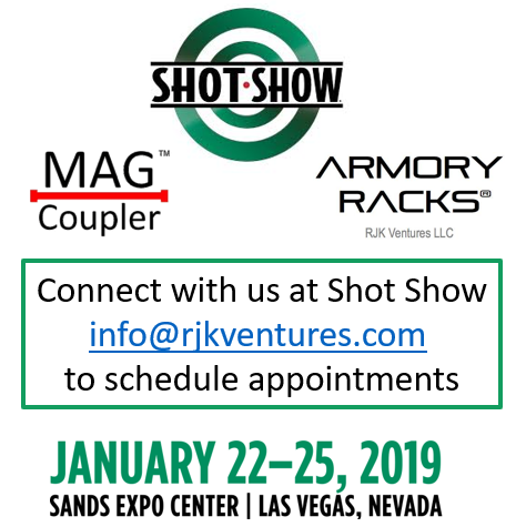 Connect with RJK Ventures at SHOT Show