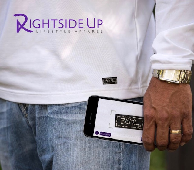 Using the Rightside Up Apparel App