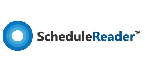 ScheduleReader™ logo
