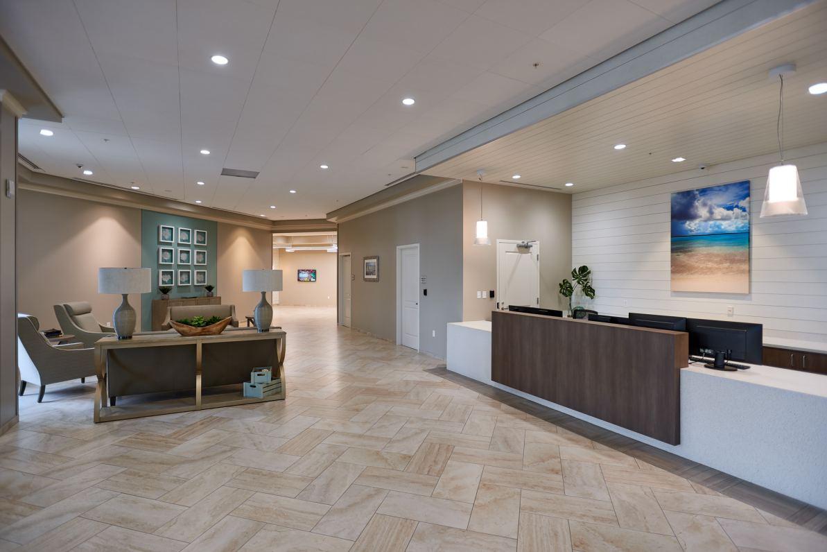 Skilled Nursing Unit Lobby