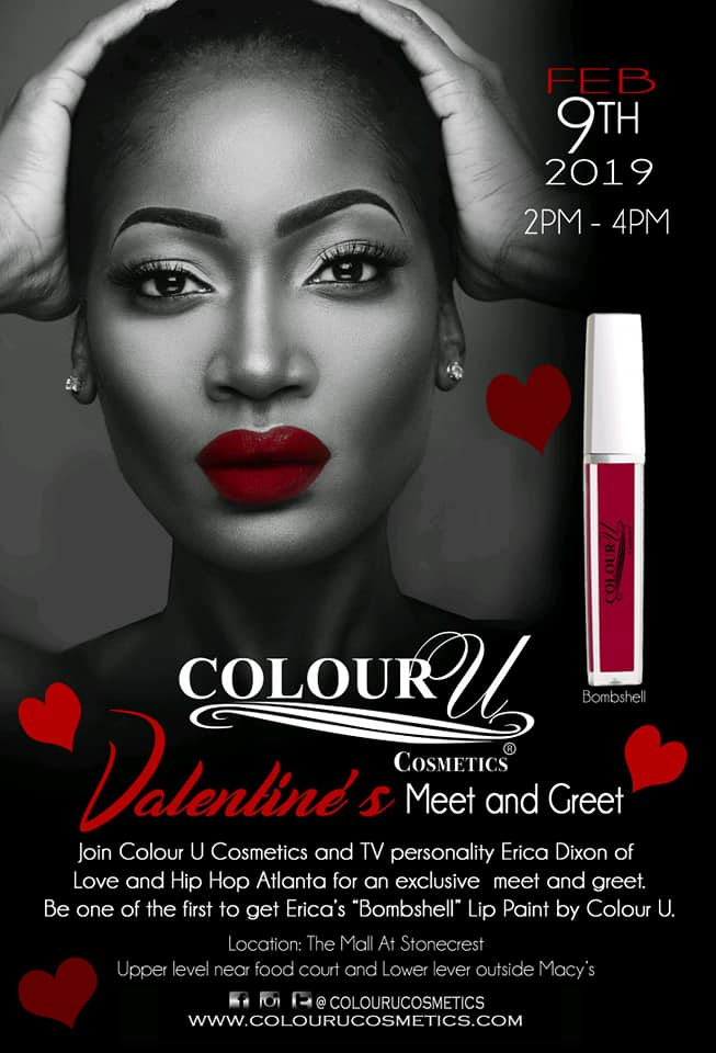 Colour U Meet & Greet With Erica Dixon