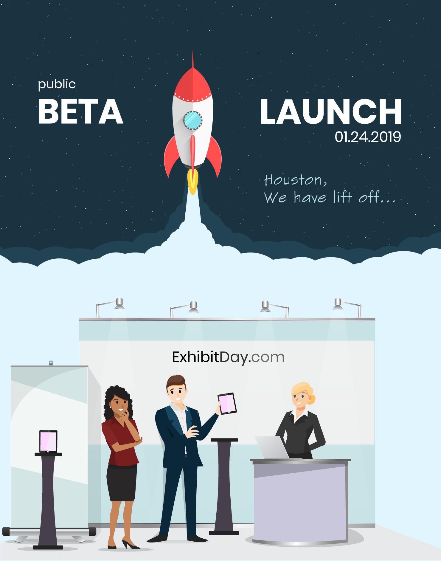 ExhibitDay Public Beta Launch
