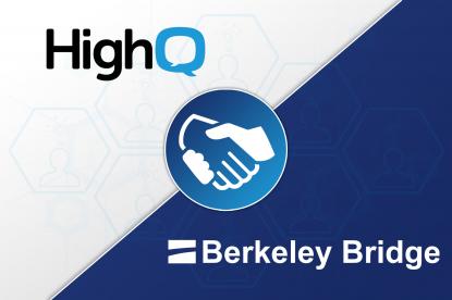 BERKELEY BRIDGE PARTNERS WITH HIGHQ TO PROVIDE INT