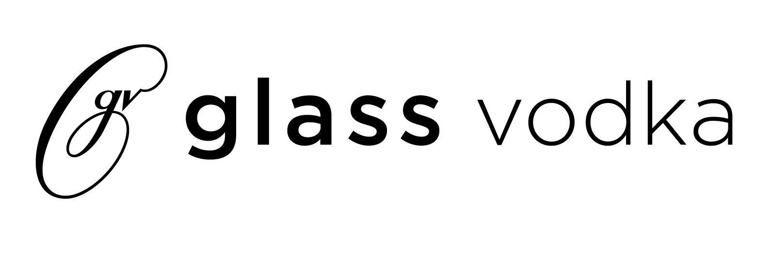 Glass Vodka Logo