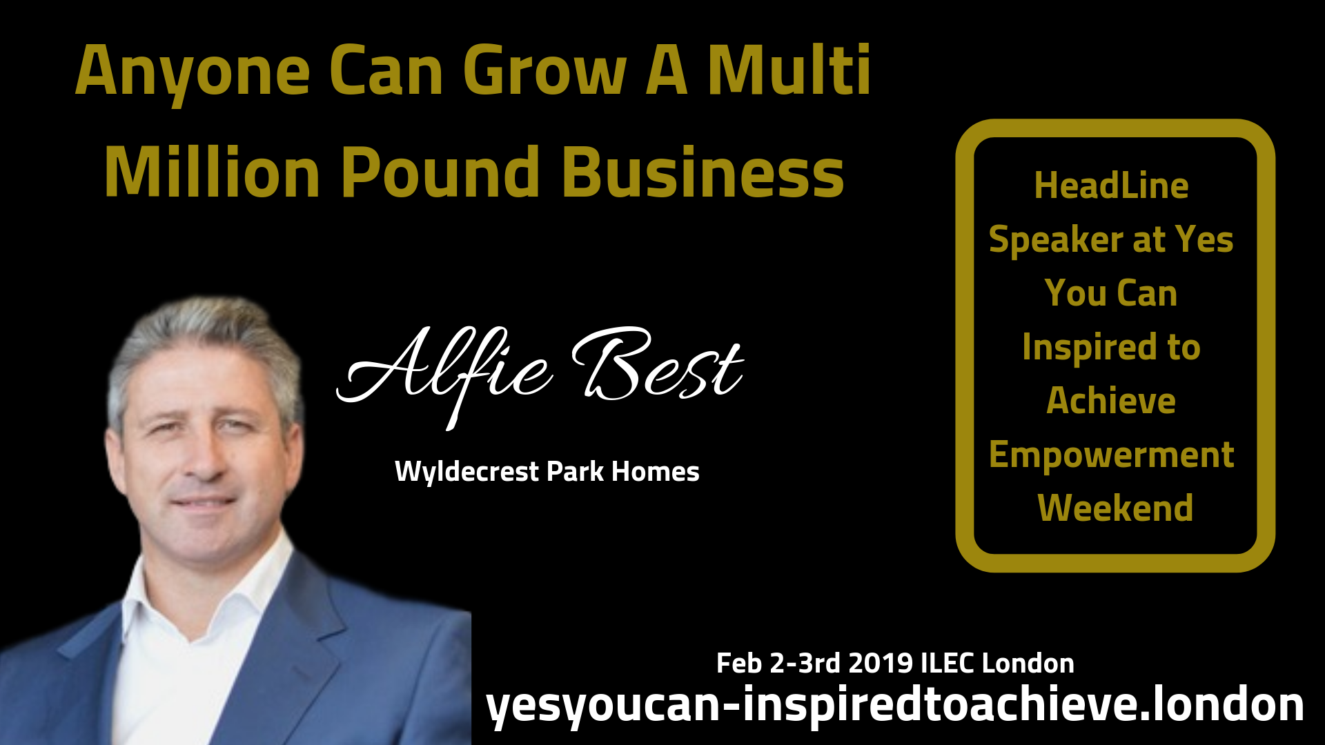 Anyone Can Grow a Multi Million Pound Business