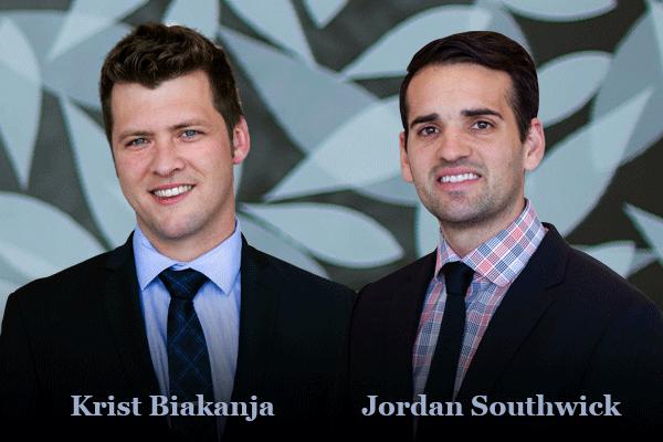 Krist Biakanja & Jordan Southwick, trial lawyers