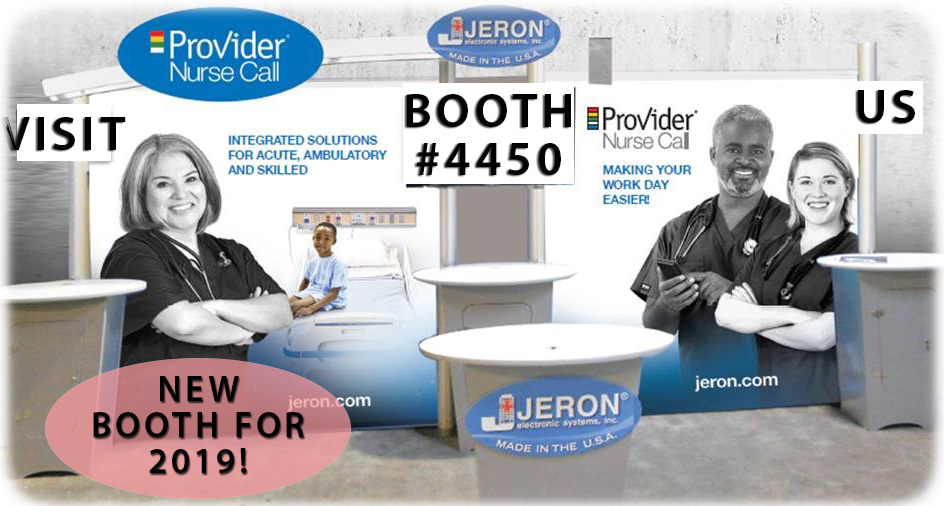 Visit Jeron's Booth #4450 at HIMSS in Orlando