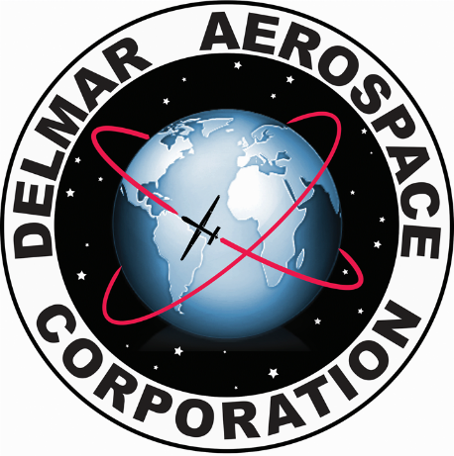 DelMar Aerospace Corporation Logo