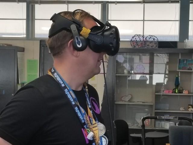 VIDA Principal, Eric Chagala, Learning Through Virtual Reality in One Generation
