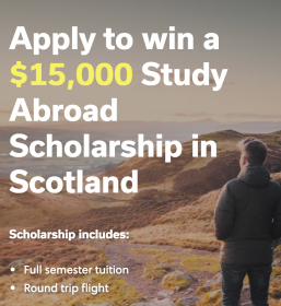 Win a Scholarship to Study in Scotland