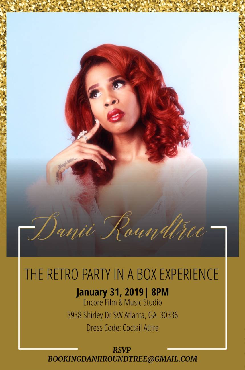 "Danii Roundtree ""Retro Party in a Box"""