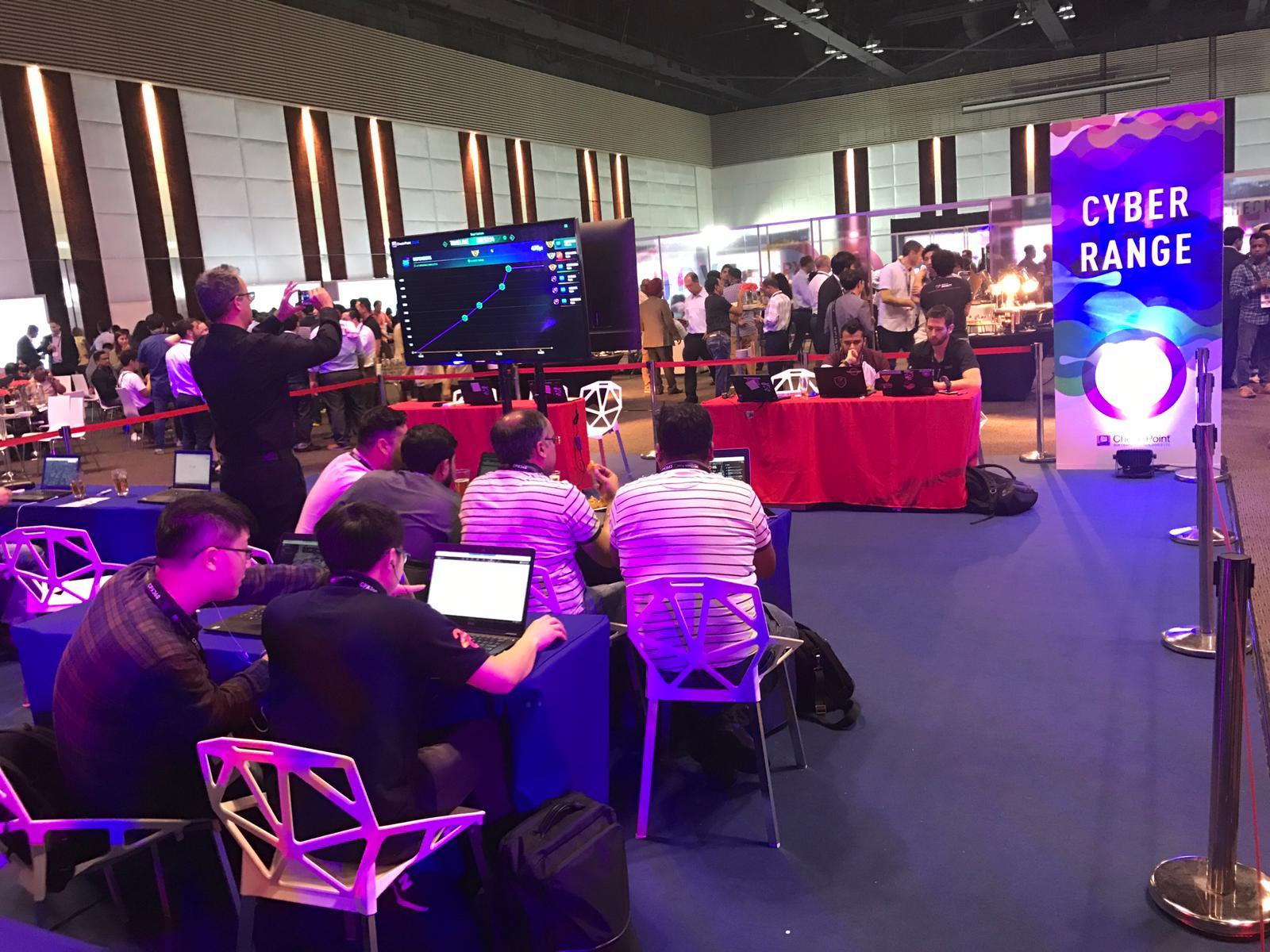 Cyber Range at CPX 360 Bangkok