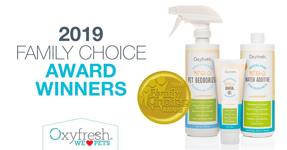 Family Choice Awards Oxyfresh