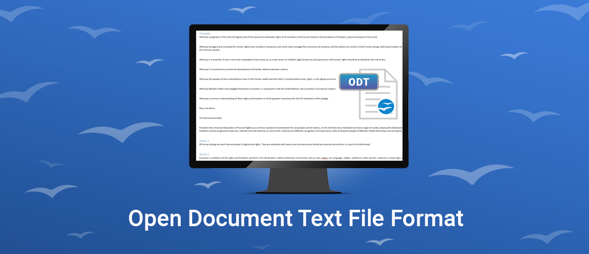 ODT support for GdPicture.NET and DocuVieware