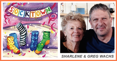 Socktown Cover, Authors Sharlene & Greg Wachs