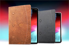 MacCase Premium Leather 2018 iPad Pro Gen 3 12.9 Case and 11 iPad Pro case